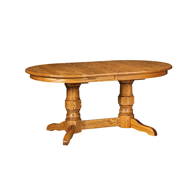 Paulding Double Pedestal Table