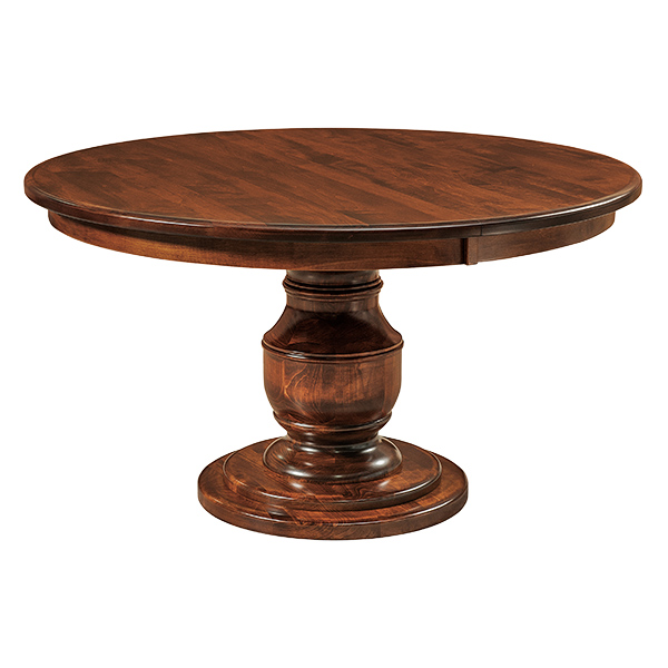 Amish Bristol Pedestal Dining Table | Amish Furniture | Shipshewana Furniture Co.