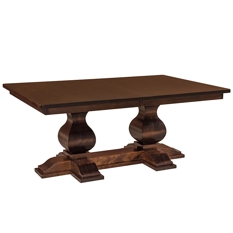 Baxter Double Pedestal Table