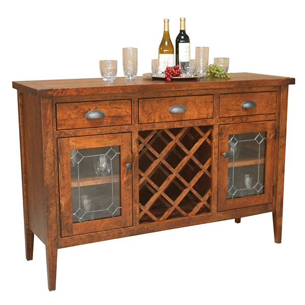 Amish Jordan Wine Server | Amish Furniture | Shipshewana Furniture Co.
