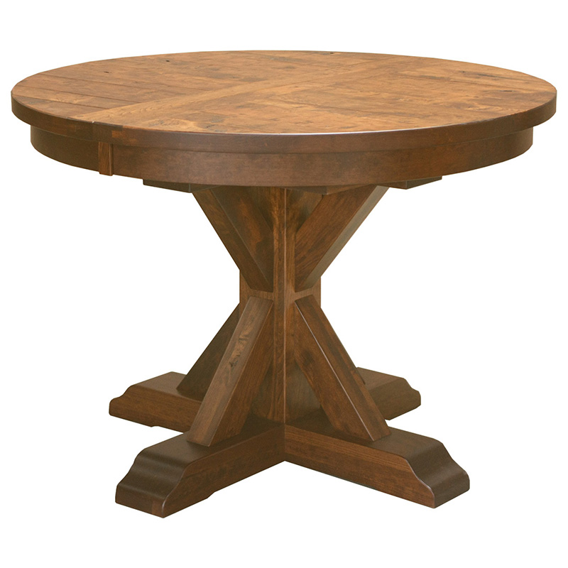 Round Table Alameda.Alameda Pedestal Table
