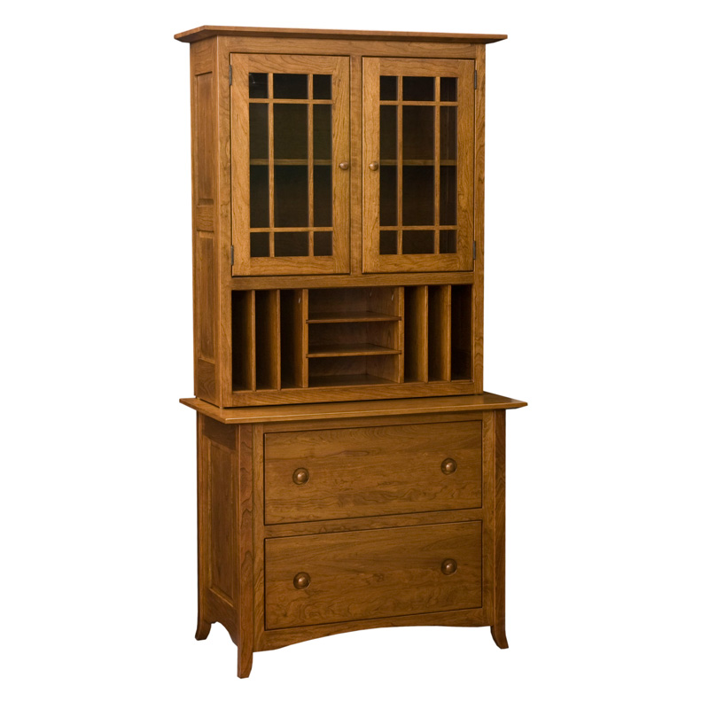 Amish Shaker Hill Lateral File Cabinet | Amish Furniture | Shipshewana Furniture Co.