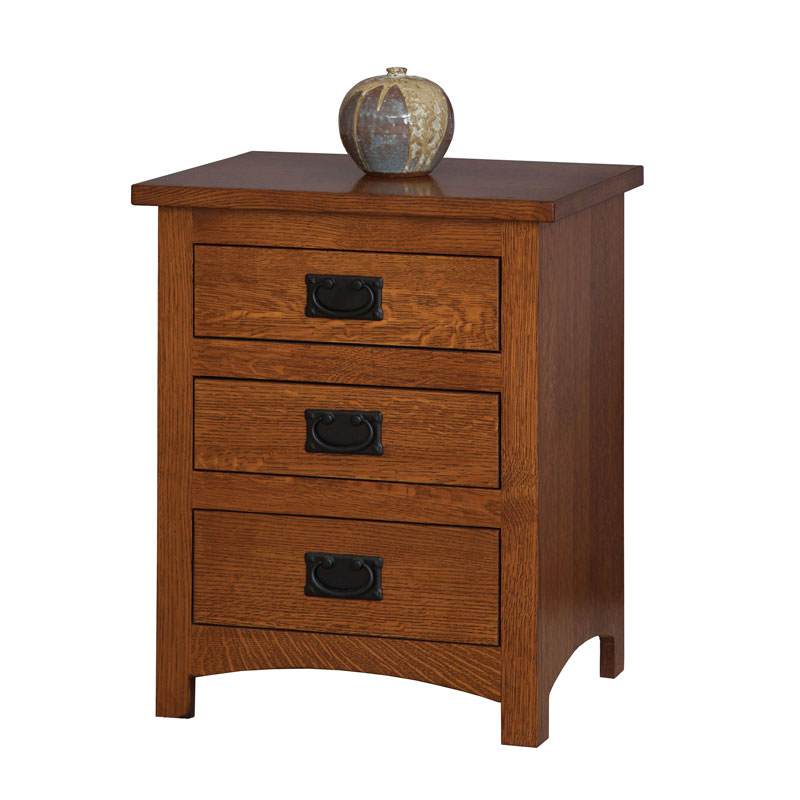 Michaels Mission 3 Drawer Night Stand