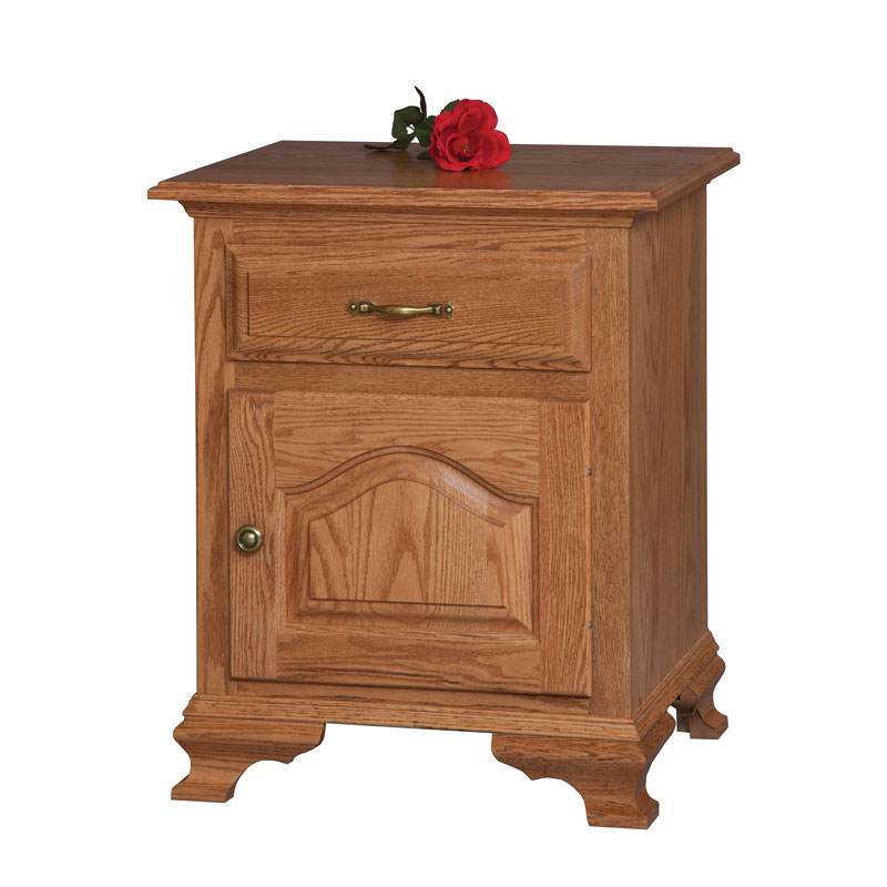 Crown Villa 1 Drawer-1 Door Night Stand