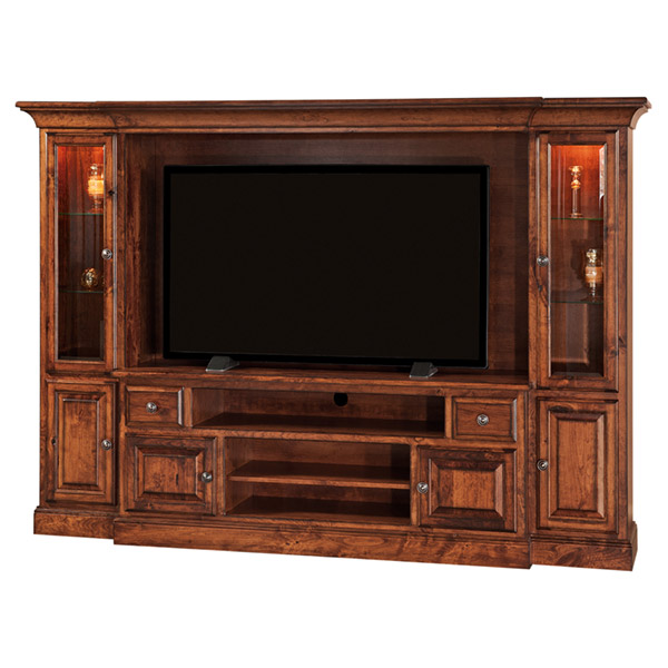 Amish Kincade Wall Unit | Amish Furniture | Shipshewana Furniture Co.