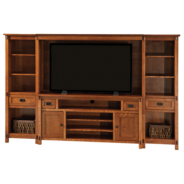 Amish Rio Mission Wall Unit | Amish Furniture | Shipshewana Furniture Co.