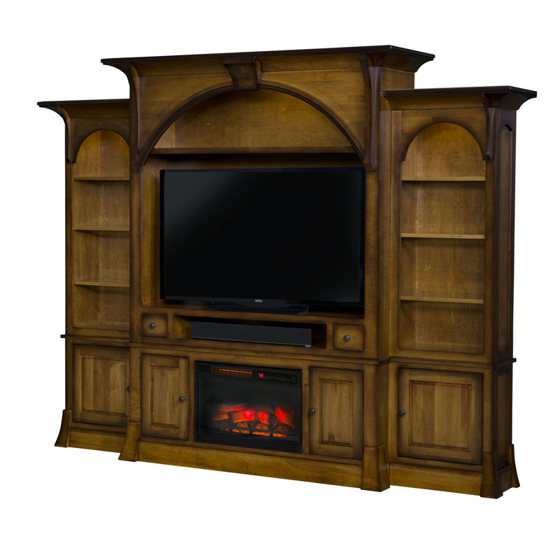 Breckenridge Wall Unit Fireplace