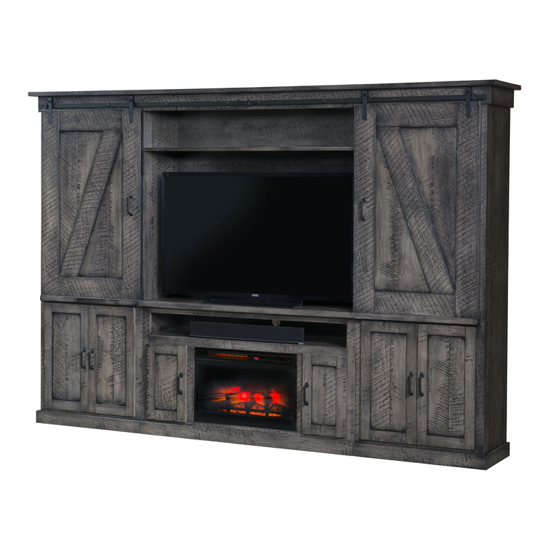 Durango Wall Unit Fireplace