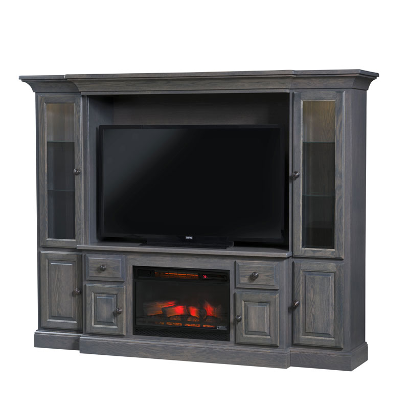 Kincade Wall Unit Fireplace