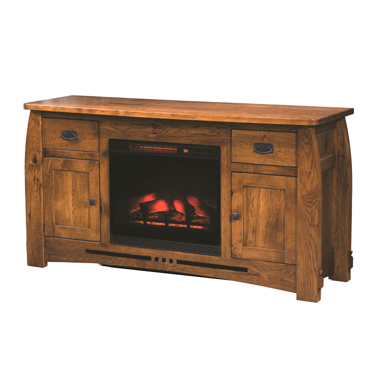 Canyon Console Fireplace