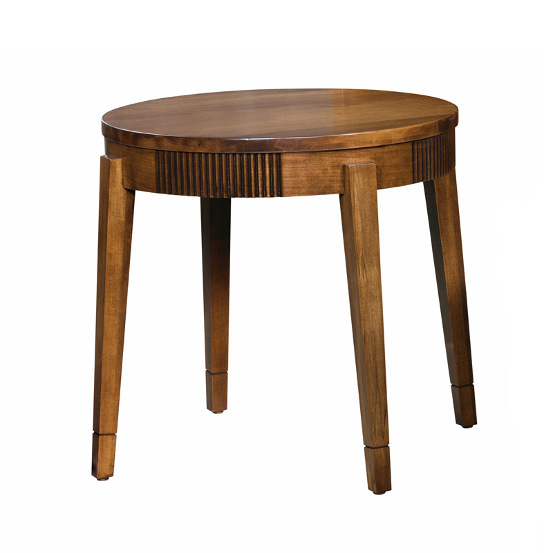 Bellaire Round End Table
