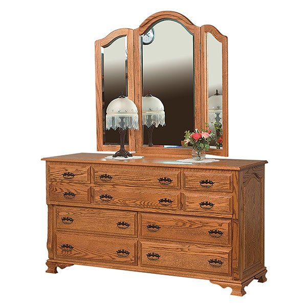 Classic Heritage 10 Drawer Dresser
