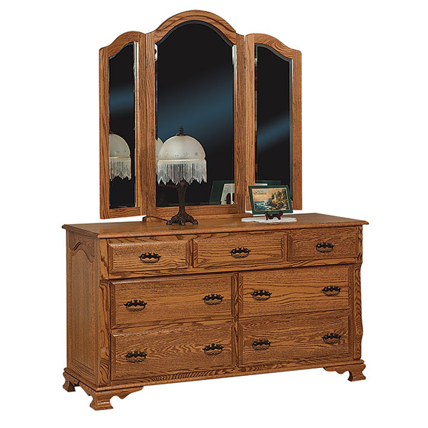 Classic Heritage 7 Drawer Dresser