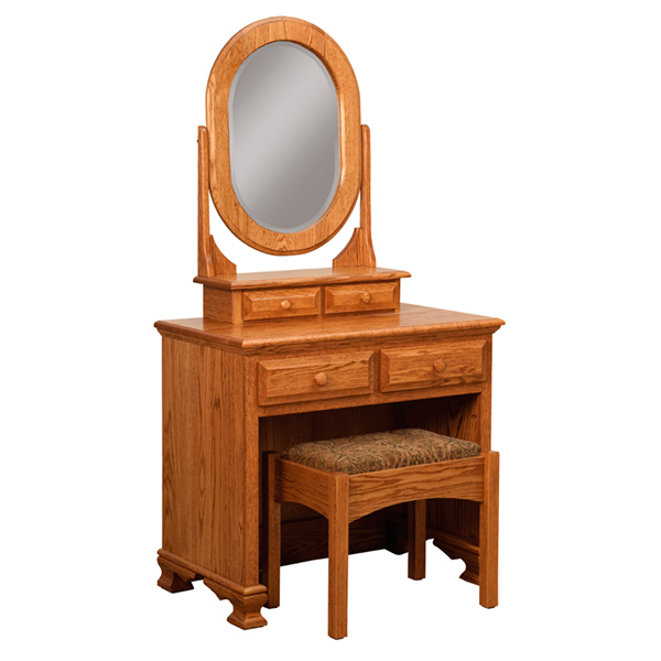 Classic Heritage Dressing Table w/ Bench