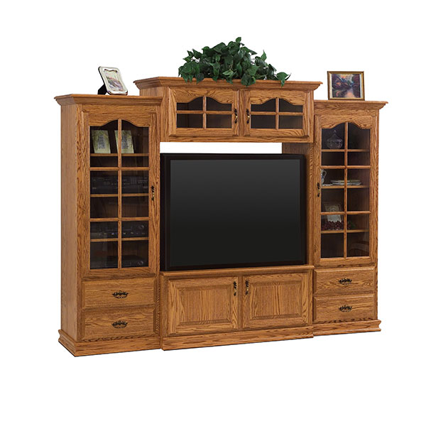 Amish Heritage Wall Unit | Amish Furniture | Shipshewana Furniture Co.