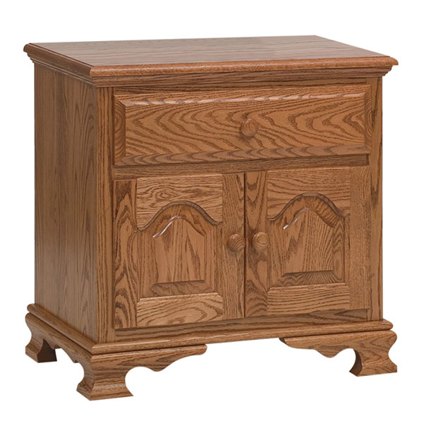 Heritage 2 Door, 1 Drawer Nightstand