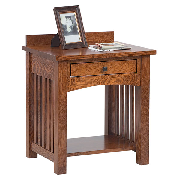 Jacobson Open Slat Nightstand