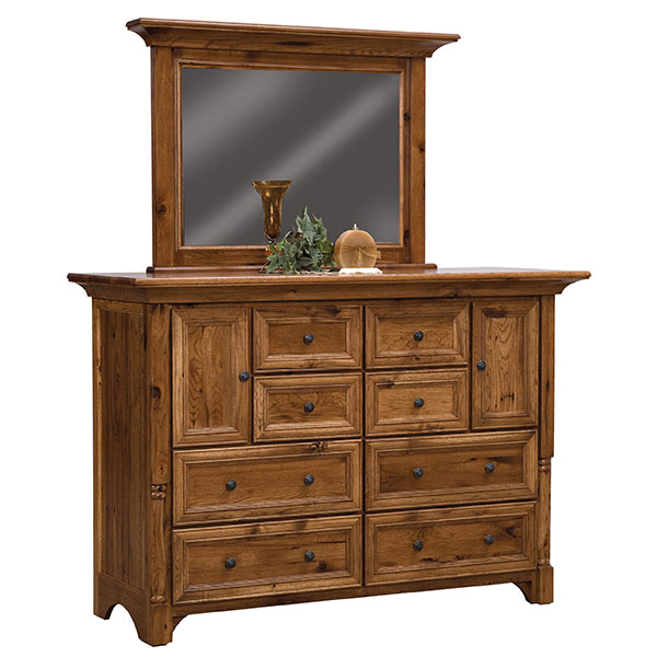 Palisade 8 Drawer, 2 Door Dresser