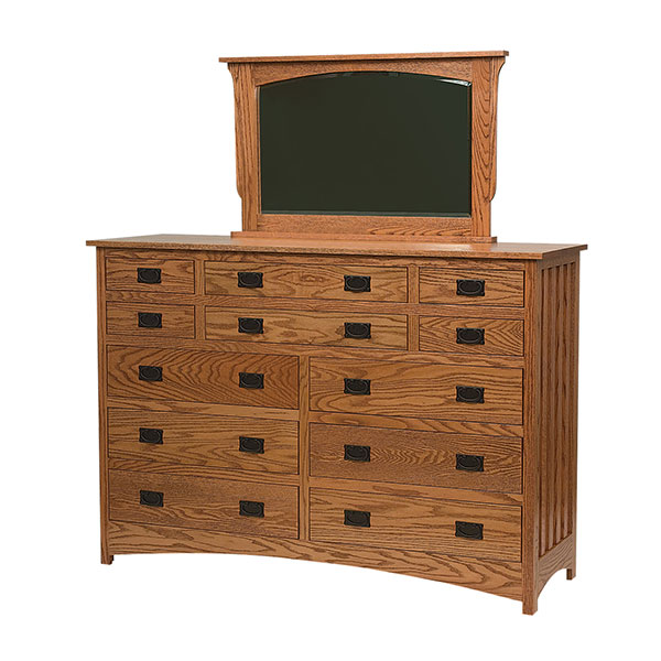 Schwartz Mission 12 Drawer Dresser