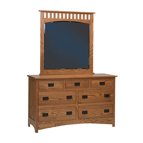 Schwartz Mission 7 Drawer Dresser