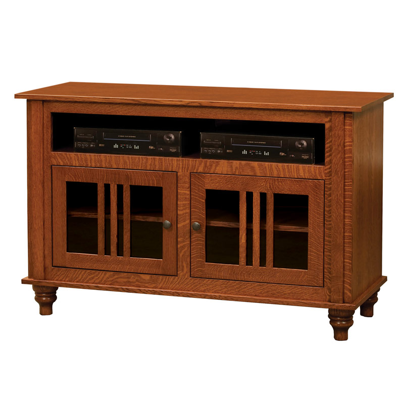 2 Door Harvest TV Console