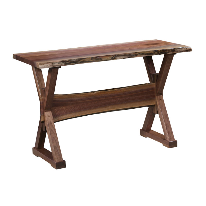 Remington Live Edge Sofa Table