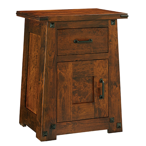 Encada Nightstand 1 Door, 1 Drawer