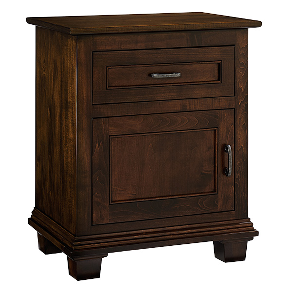 Francine Nightstand 1 Door, 1 Drawer