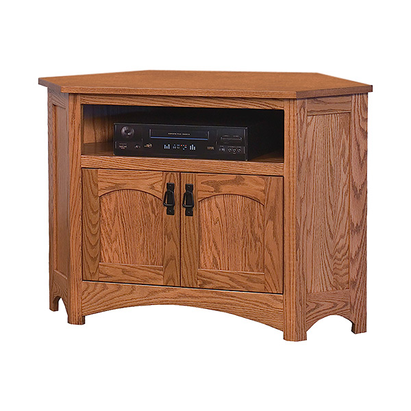 Mission Corner Tv Stand 43 W Shipshewana Furniture Co