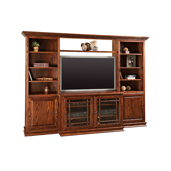 Amish Jason Heritage Wall Unit | Amish Furniture | Shipshewana Furniture Co.