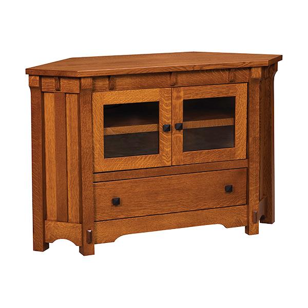 Manitoba Corner Tv Stand 50w Shipshewana Furniture Co