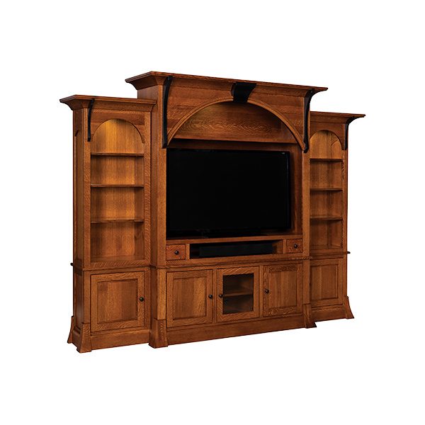 Amish Breckenridge Wall Unit | Amish Furniture | Shipshewana Furniture Co.