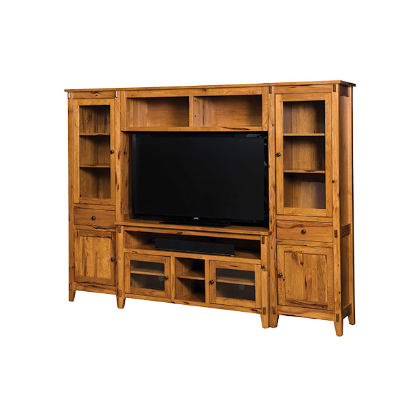 Amish Bungalow Wall Unit | Amish Furniture | Shipshewana Furniture Co.