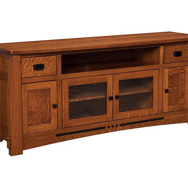 Amish Canyon TV Stand 72"
