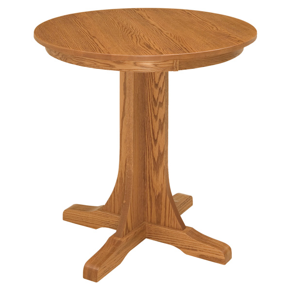 Amish Shasta Mission Pub Table | Amish Furniture | Shipshewana Furniture Co.