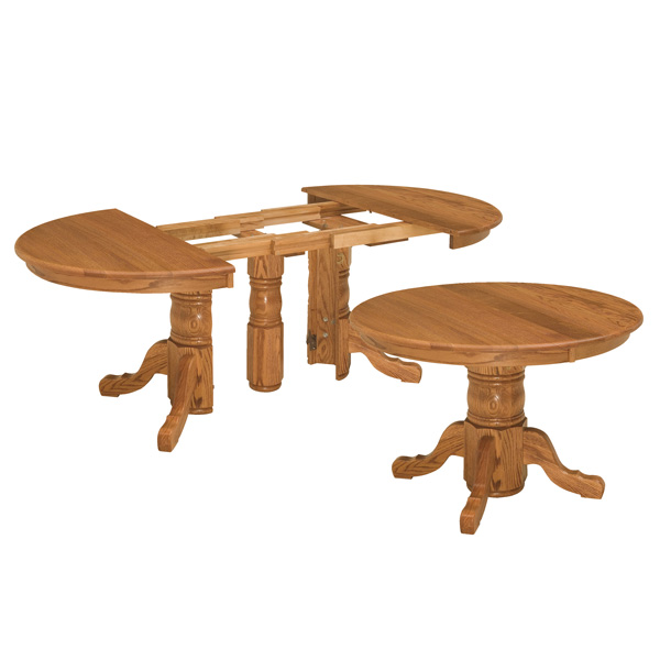 Shelton Split Pedestal Extension Table