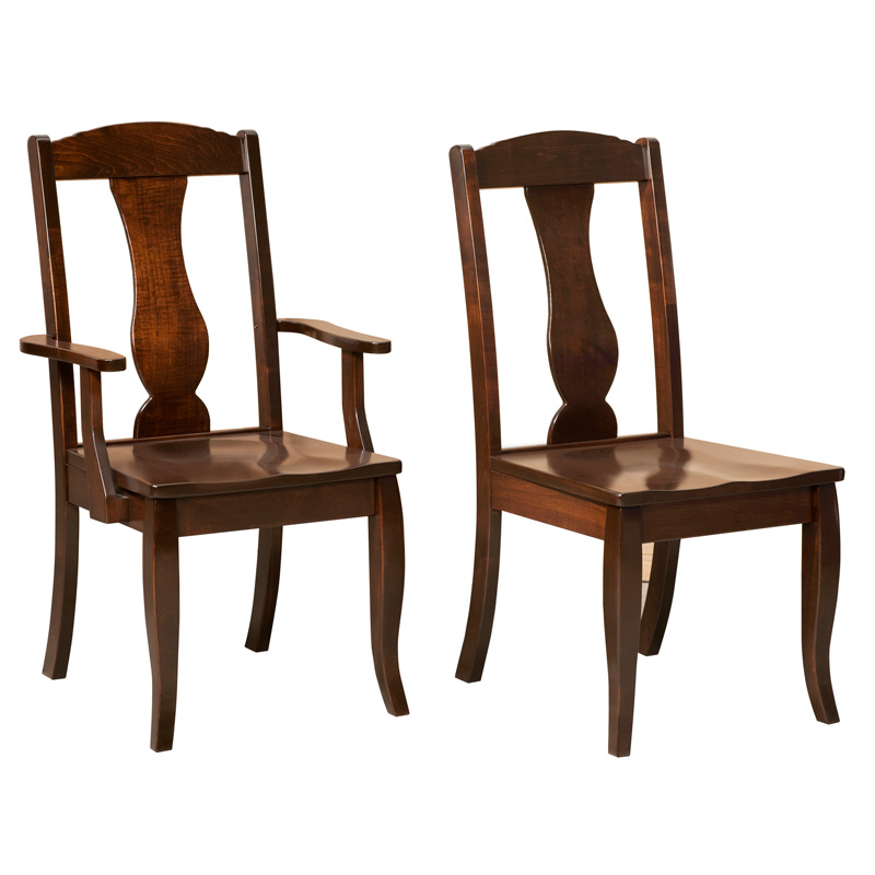 Amish Amsterdam Dining Chairs | Amish Furniture | Shipshewana Furniture Co.