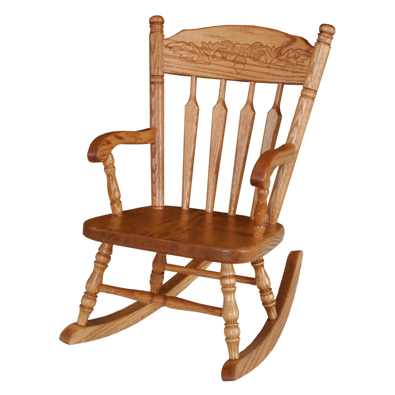 Amish Acorn Childs Rocker | Amish Furniture | Shipshewana Furniture Co.