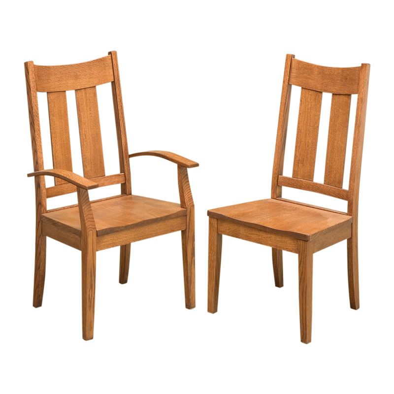 Amish Addison Dining Chairs | Amish Furniture | Shipshewana Furniture Co.
