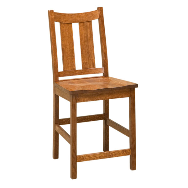 Amish Addison Bar Chair | Amish Furniture | Shipshewana Furniture Co.