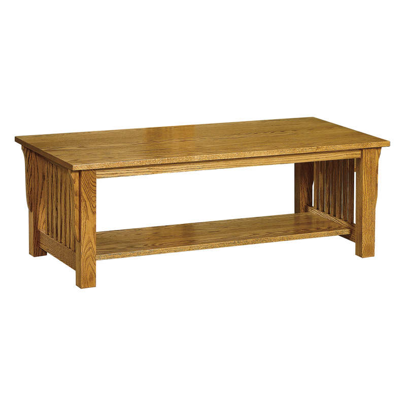 Amish Mission No Drawer Coffee Table | Amish Furniture | Shipshewana Furniture Co.