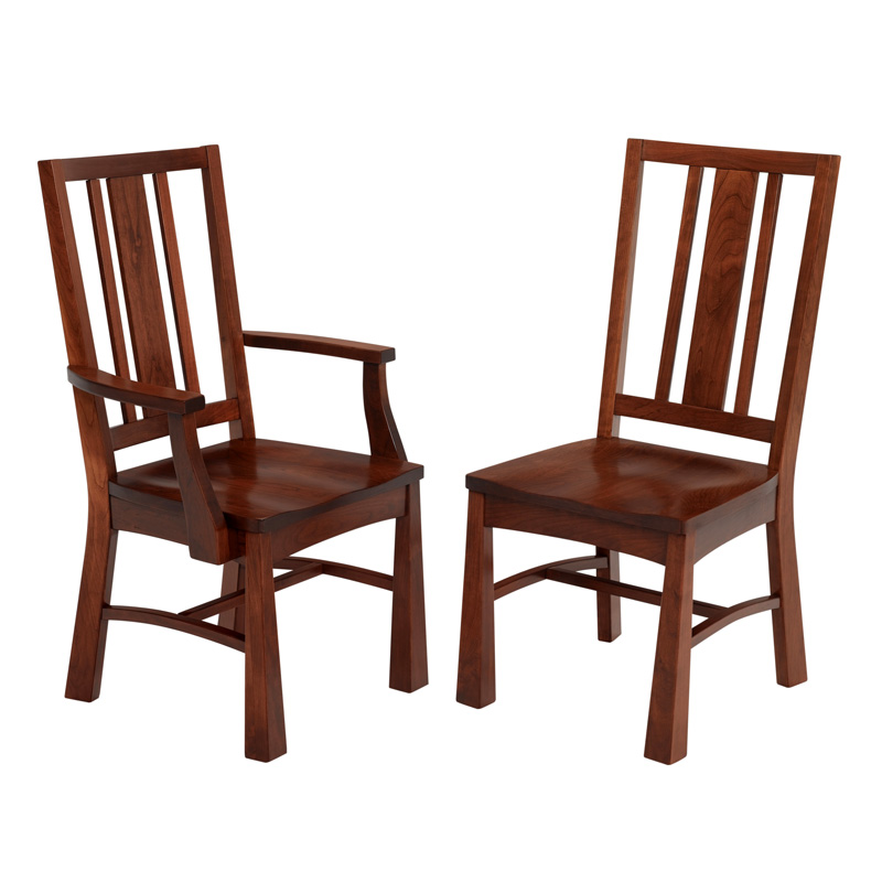 Amish Anderson Dining Chairs | Amish Furniture | Shipshewana Furniture Co.