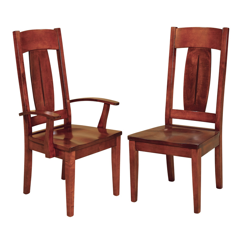 Amish Archer Dining Chairs | Amish Furniture | Shipshewana Furniture Co.