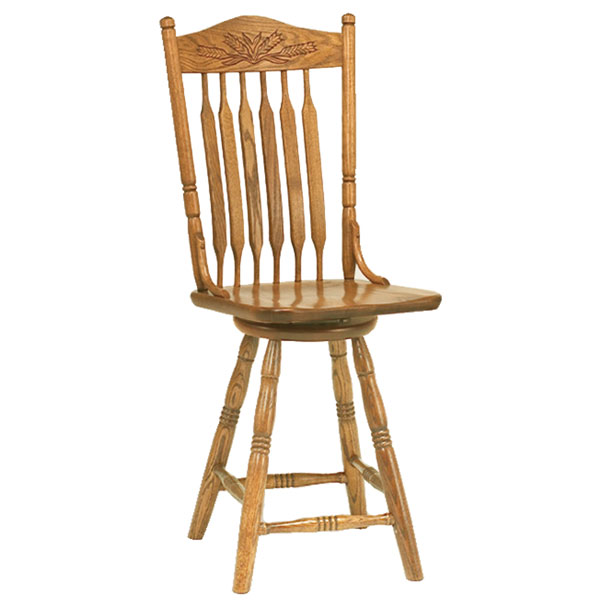 Amish Ashland Barstool | Amish Furniture | Shipshewana Furniture Co.