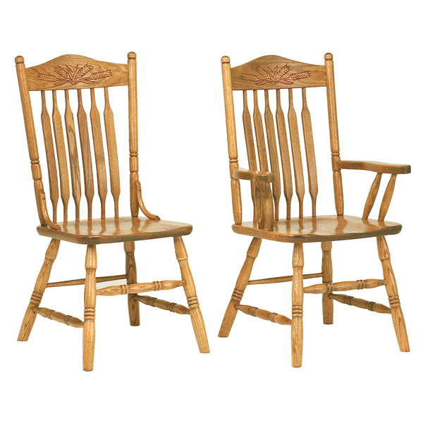 Amish Ashland Dining Chairs | Amish Furniture | Shipshewana Furniture Co.