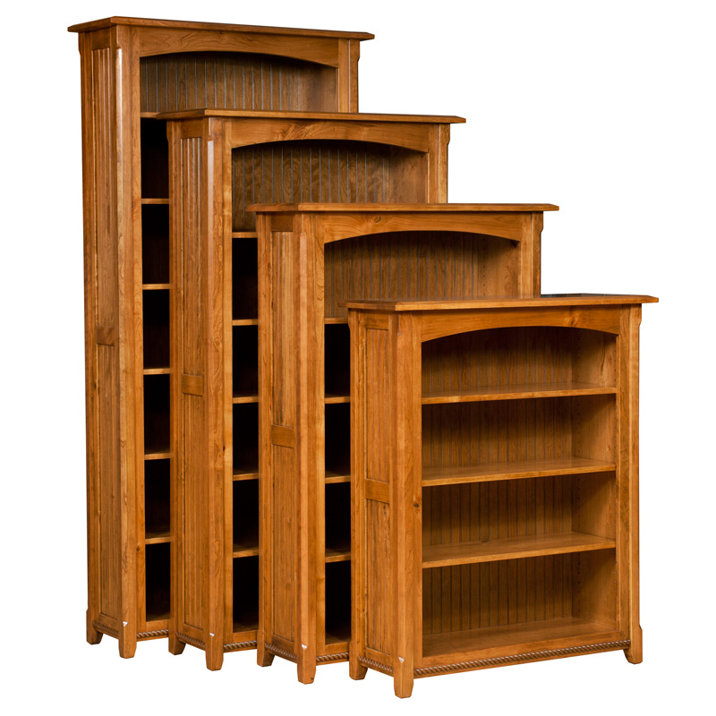 Amish Ashton Bookcase | Amish Furniture | Shipshewana Furniture Co. - Amish Bookcases, Amish Furniture Shipshewana Furniture Co.