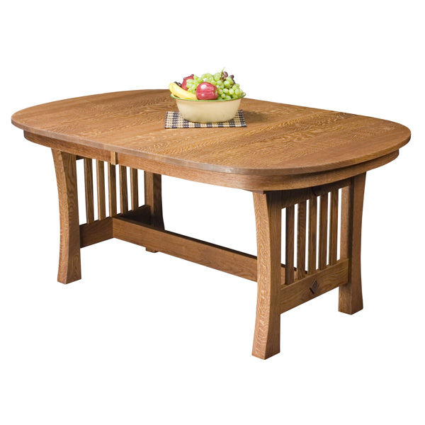 Amish Ashton Trestle Table | Amish Furniture | Shipshewana Furniture Co.