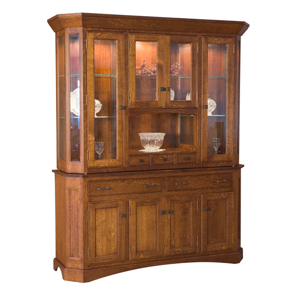 Amish Avalon Hutch | Amish Furniture | Shipshewana Furniture Co.