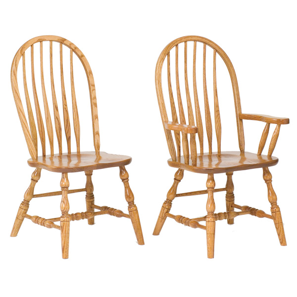 Amish Baden Deep Scoop Dining Chairs | Amish Furniture | Shipshewana Furniture Co.