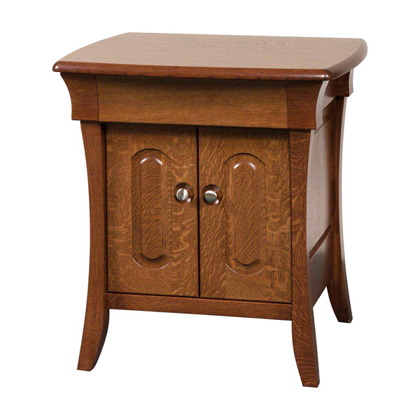 Banbury 2 Door, 1 Jewelry Drawer Night Stand